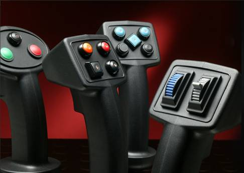 Industrial Joysticks | ch products (Enlarge)