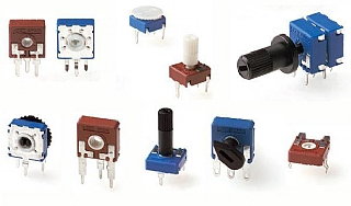 Potentiometers for Commercial Uses