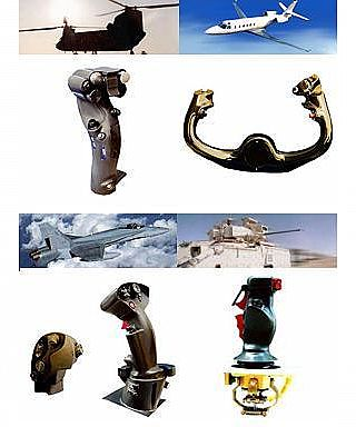 Military Grade Joysticks, Hand Grips, Throttles, Trigger Switches