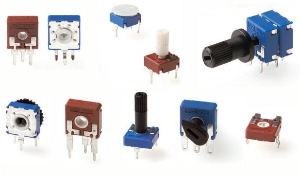 Potentiometers for Commercial Uses (Enlarge)