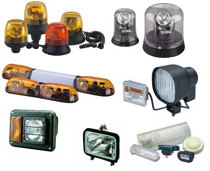 Lighting for Agricultural and Heavy Duty vehicles (Enlarge)